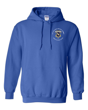 "504th PIR ""Devils in Baggy Pants"" Embroidered Hooded Sweatshirt"