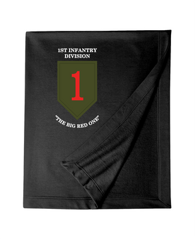1st Infantry Division Embroidered Dryblend Stadium Blanket