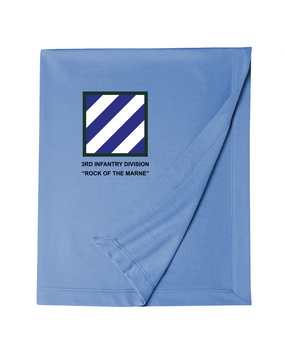 3rd Infantry Division Embroidered Dryblend Stadium Blanket