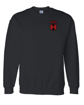 7th Infantry Division Embroidered Sweatshirt