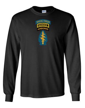 Triple Canopy Long-Sleeve Cotton Shirt-(Chest)