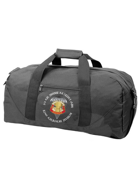 3/4 ADA Embroidered Duffel Bag