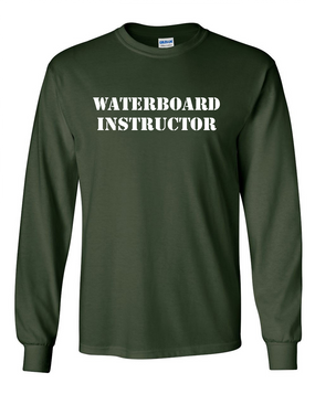 Waterboard Instructor Long-Sleeve Cotton Shirt