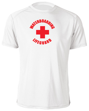 Waterboarding Lifeguard Moisture Wick Shirt