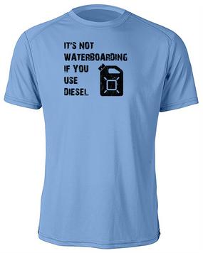 Waterboarding w/ Diesel Moisture Wick Shirt