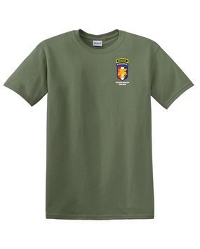 SETAF w/ Ranger Tab Cotton T-Shirt -(Pocket)