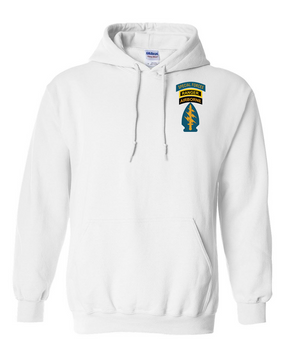 Triple Canopy Embroidered Hooded Sweatshirt