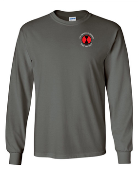 7th Infantry Division Long-Sleeve Cotton Shirt