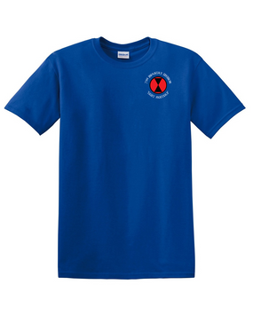 7th Infantry Division Cotton T-Shirt