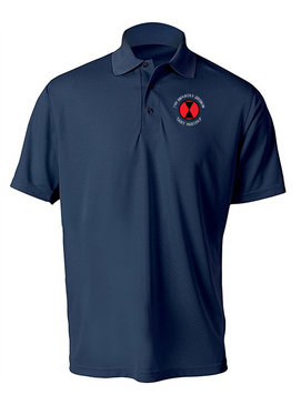 7th Infantry Division Embroidered Moisture Wick Polo (C)