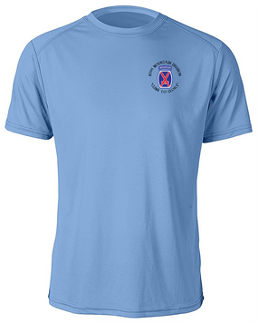 10th Mountain Division Moisture Wick Shirt