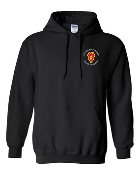 25th Infantry Division Embroidered Hooded Sweatshirt