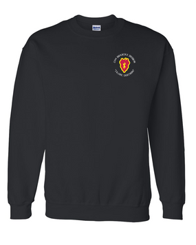 25th Infantry Division Embroidered Sweatshirt
