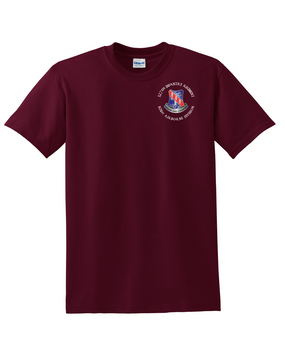 327th Infantry Regiment Cotton T-Shirt (C)
