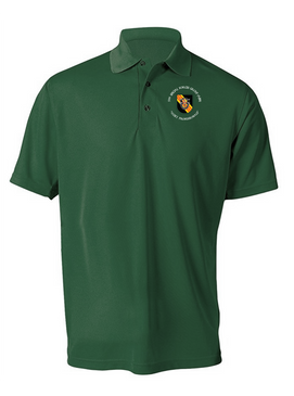5th Special Forces Group V2 Embroidered Moisture Wick Polo (C)