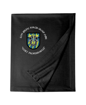 12th Special Forces Group Embroidered Dryblend Stadium Blanket