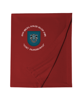19th Special Forces Group Embroidered Dryblend Stadium Blanket