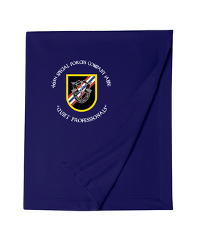 46th Special Forces Group Embroidered Dryblend Stadium Blanket