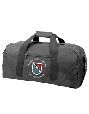 11th Special Forces Group Embroidered Duffel Bag