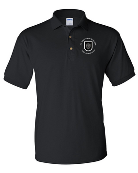 5th Special Forces Group V1  Embroidered Cotton Polo Shirt (C)