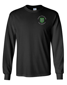 10th Special Forces Group Long-Sleeve Cotton Shirt (C)
