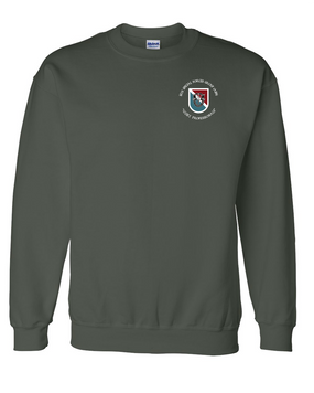 11th Special Forces Group  Embroidered Sweatshirt  (C)