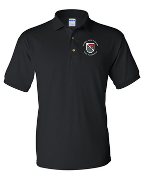 11th Special Forces Group Embroidered Cotton Polo Shirt (C)