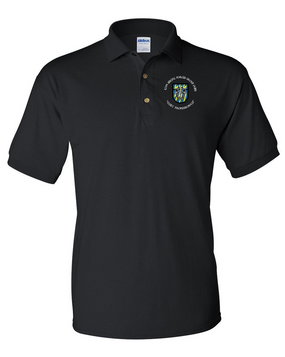 12th Special Forces Group Embroidered Cotton Polo Shirt (C)