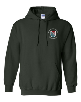 10th Special Forces Group (Europe)  Embroidered Hooded Sweatshirt (C)