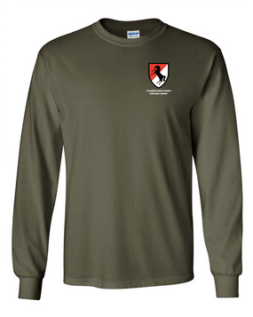 11th ACR Long-Sleeve Cotton Shirt (Pocket)