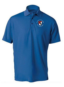 11th ACR Embroidered Moisture Wick Polo (C)