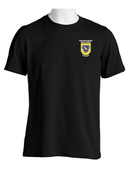 """3- 504th Parachute Infantry Regiment """"Crest & Flash""""   Cotton Shirt  (OS)"""