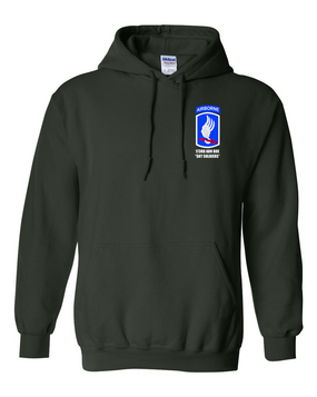 "173rd ""Sky Soldiers Embroidered Hooded Sweatshirt"