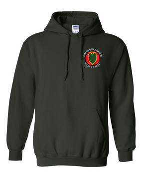 24th Infantry Division Embroidered Hooded Sweatshirt (C)