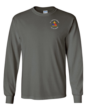 1st Armored Division Long-Sleeve Cotton Shirt (C)