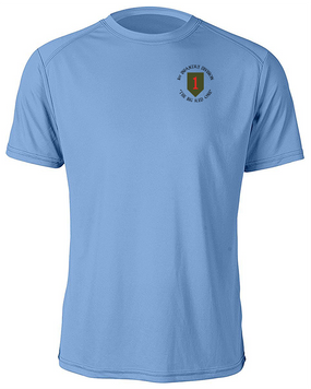 1st Infantry Division Moisture Wick Shirt  (C)