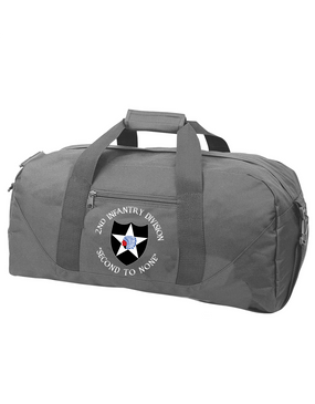 2nd Infantry Division Embroidered Duffel Bag (C)