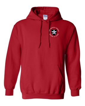 2nd Infantry Division Embroidered Hooded Sweatshirt (C)