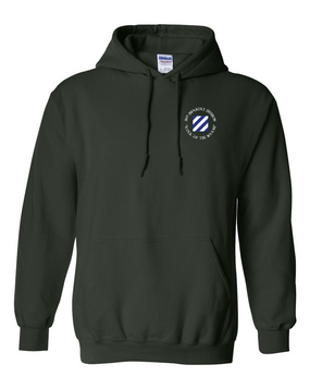 3rd Infantry Division Embroidered Hooded Sweatshirt (C)
