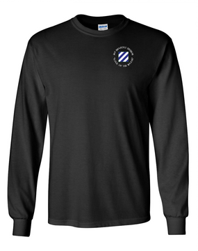 3rd Infantry Division Long-Sleeve Cotton Shirt (C)