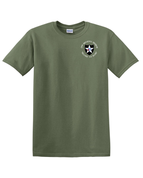 2nd Infantry Division Cotton T-Shirt (C)