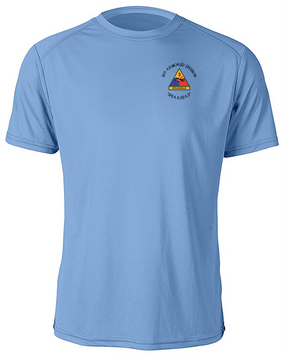 3rd Armored Division Moisture Wick Shirt  (C)