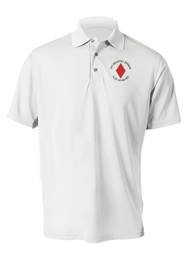 5th Infantry Division Embroidered Moisture Wick Polo (C)