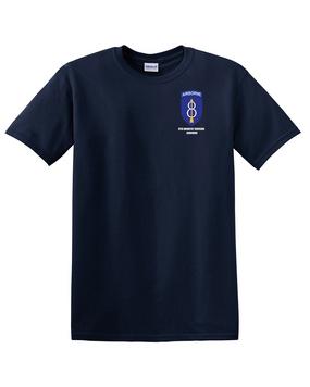 8th Infantry Division Airborne Cotton T-Shirt -(P)