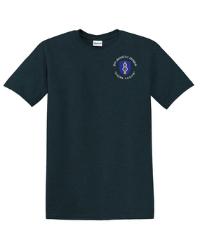 8th Infantry Division Cotton T-Shirt -(C) (P)
