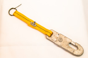 Bravo 9 Static Line Snap Hook Keychain