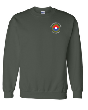 9th Infantry Division  Embroidered Sweatshirt (C)
