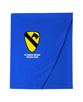 1st Cavalry Embroidered Dryblend Stadium Blanket