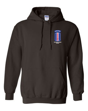 193rd  Airborne Embroidered Hooded Sweatshirt