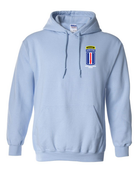 193rd  Airborne w/ Ranger Tab Embroidered Hooded Sweatshirt
